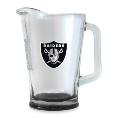 Elite 60-Ounce NFL Oakland Raiders Pitcher