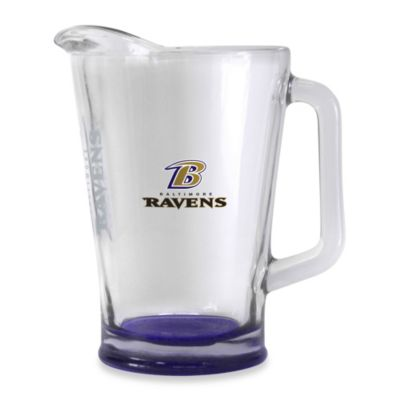 Elite 60-Ounce NFL Baltimore Ravens Pitcher