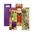 Design Design Premium Wine Bottle Gift Bags (4-Pack)