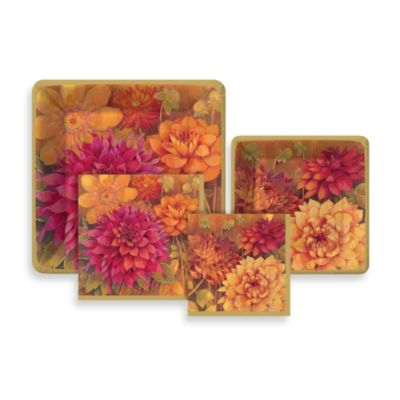 Dahlia Paper Tableware Entertaining Kit