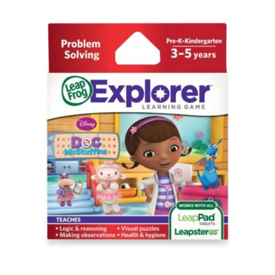 LeapFrog® Explorer Disney Doc McStuffins Learning Game - from Leap Frog