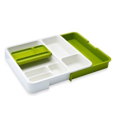 Joseph Joseph® DrawerStore™ Organizer in White/Green