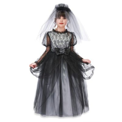 Just Pretend® Enchanted Dark Bride Size Large Costume