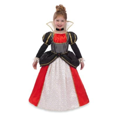 Just Pretend® Enchanted Queen of Hearts Size Medium Costume