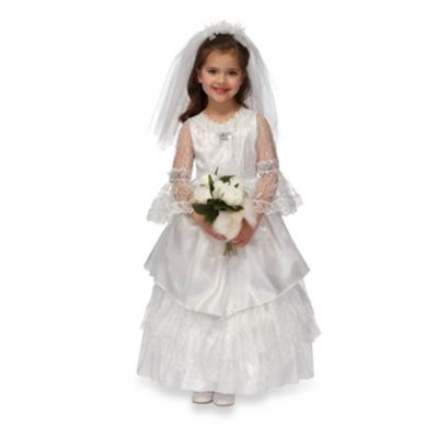 Just Pretend® Enchanted Elegant Bride Size Large Costume