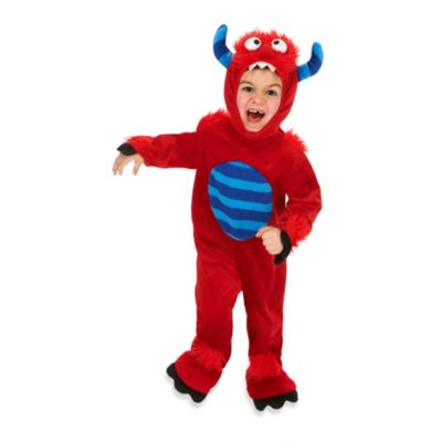 Just Pretend® Red Monster Size Large (3T-4T) Toddler Animal Costume