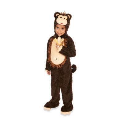 Just Pretend® Monkey Size Large (3T-4T) Toddler Animal Costume