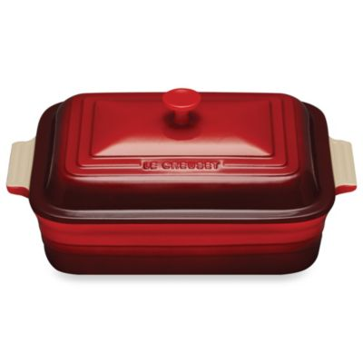 Le Creuset® 4.5-Quart Covered Rectangular Casserole Dish in Cherry