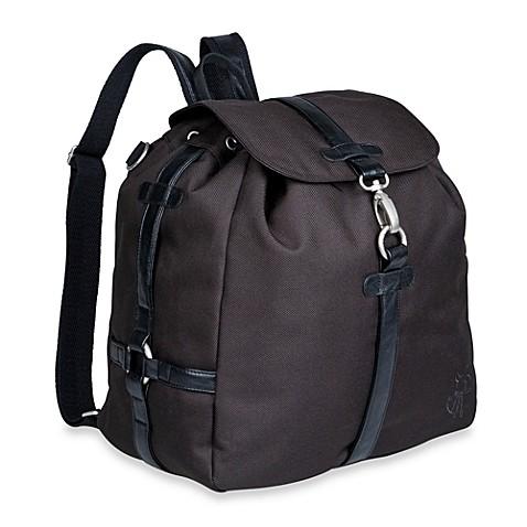 lassig green label backpack diaper bag in black buybuy baby. Black Bedroom Furniture Sets. Home Design Ideas