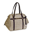 Lassig Green Label Urban Diaper Bag in Chocolate Melange