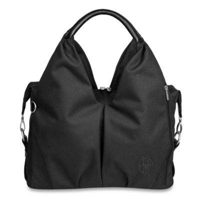 Lassig Green Label Neckline Diaper Bag in Black