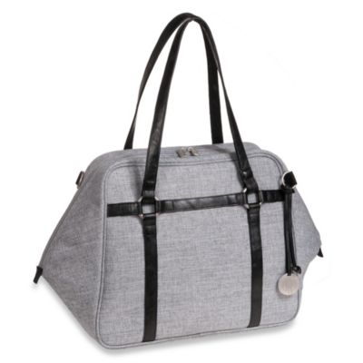 Lassig Green Label Urban Diaper Bag in Black Melange