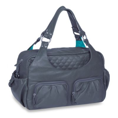 Lassig Tender Multipocket Diaper Bag in Steel