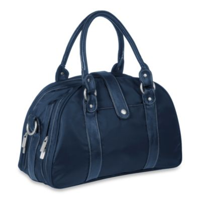 Lassig Glam Shoulder Diaper Bag in Navy
