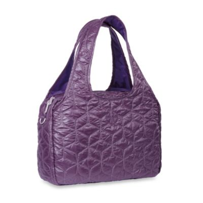 Lassig Glam Global Diaper Bag in Purple