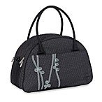 Lassig Casual Shoulder Diaper Bag in Ribbon Black