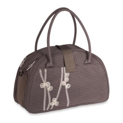 Lassig Casual Shoulder Diaper Bag in Ribbon Slate