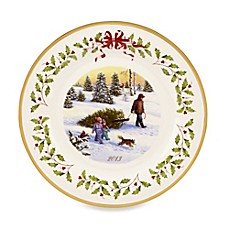 Lenox® Holiday™ Annual Plate