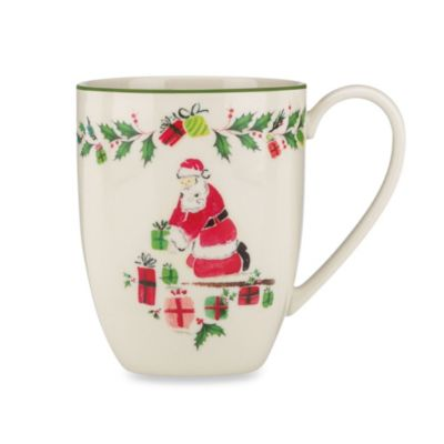 Lenox® Holiday Illustrations 14 oz. Fireplace Mug