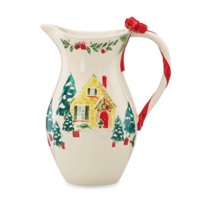 Lenox® Holiday Illustrations 10.75-Inch Pitcher