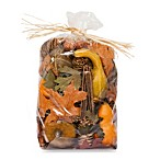 Harvest Blossom Large Potpourri Bag in Orange