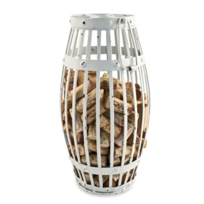 Shabby Chic Barrel Cork Holder