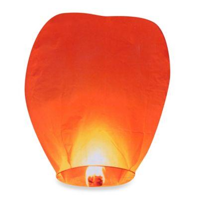 Sky Lanterns in Red (Set of 8)