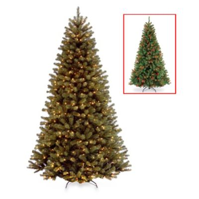 7-Foot North Valley Spruce Tree Pre-Lit with 450 Color Changing LED Lights