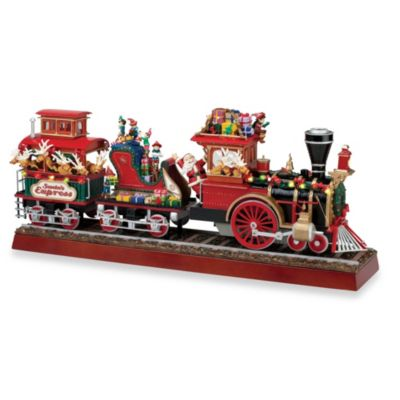 Santa Express Holiday Music Box Decoration
