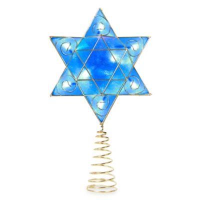 Deluxe Hanukkah Tree Topper