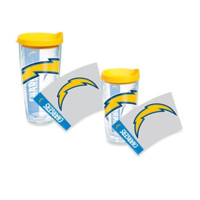 Tervis® San Diego Chargers Wrap Tumblers with Yellow Lid