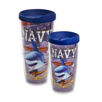 Tervis® Guy Harvey United States Navy Wrap Tumblers with Blue Lid