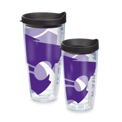 Tervis® Kansas State Wildcats 16-Ounce Wrap Tumbler with Black Lid