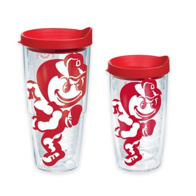 Tervis® Ohio State University Brutus 16-Ounce Wrap Tumbler with Red Lid