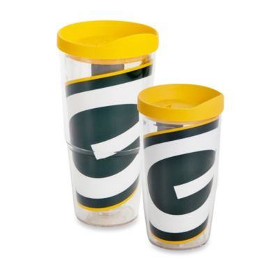 Tervis® Green Bay Packers Wrap Tumbler with Yellow Lid