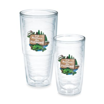"""Tervis® """"I'd Rather Be Fishing"""" 24-Ounce Tumbler"""