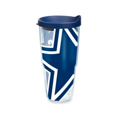 Tervis® Dallas Cowboys 24-Ounce Wrap Tumbler with Blue Lid
