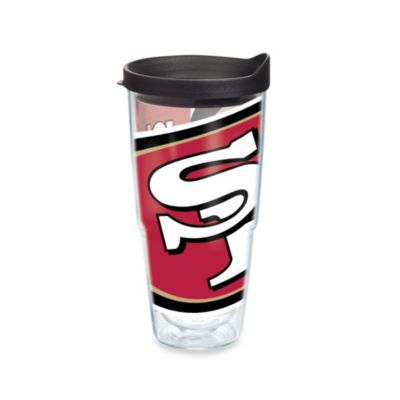 Tervis® San Francisco 49ers 24-Ounce Wrap Tumbler with Black Lid