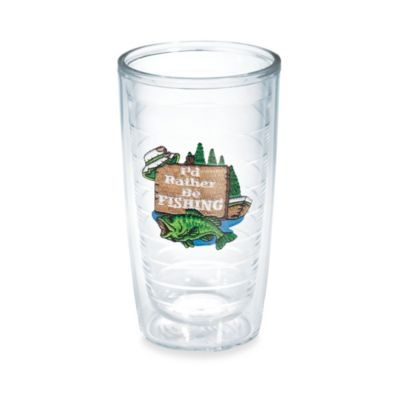 "Tervis® ""I'd Rather Be Fishing"" 16-Ounce Tumbler"