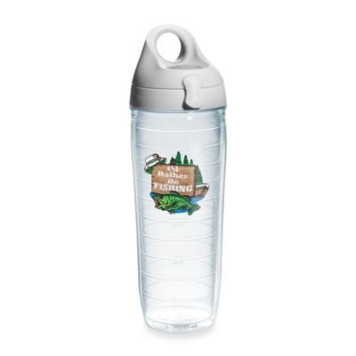 Tervis® I'd Rather Be Fishing 24-Ounce Water Bottle