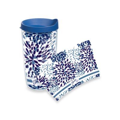 Tervis® Paisley Lapis Fiesta® Wrap 16-Ounce Tumbler with Lid in Blue Calypso