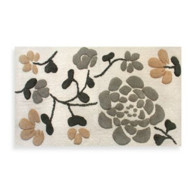 Park B. Smith Asian Garden Bath Rug in Natural