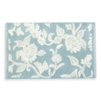 Park B. Smith Floral Swirl Bath Rug