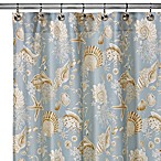 Natural Shells 72-Inch x 72-Inch Shower Curtain
