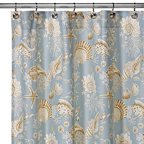 Buy Natural Shells Shower Curtain From Bed Bath Amp Beyond
