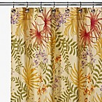 Sea Floral 72-Inch x 72-Inch Shower Curtan