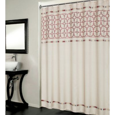 Retro Stripe Shower Curtain