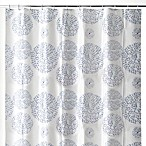 Mozaik Blue 70-Inch W x 72-Inch L PEVA Shower Curtain
