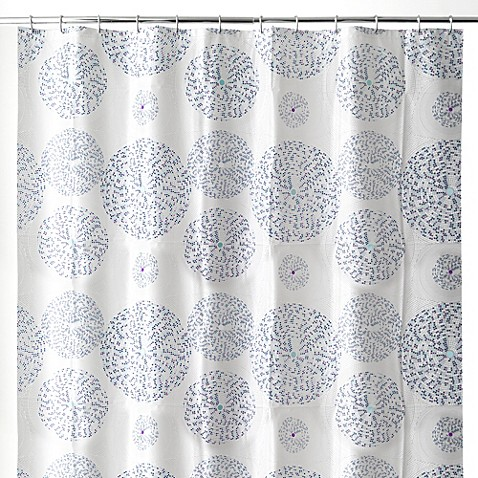 buy mozaik 70 inch x 72 inch shower curtain in blue from the long long swing september 2010