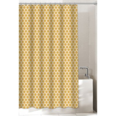 Morocco Gold 72-Inch x 72-Inch Shower Curtain